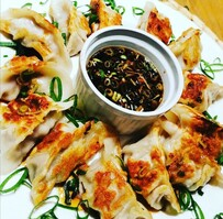 Asian Pork & Ginger Dumplings with Dipping sauce (FROZEN)